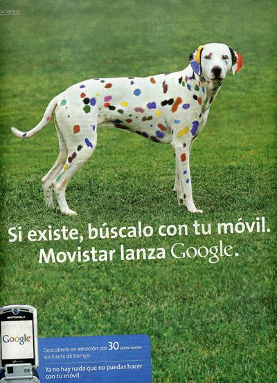 Movistar lanza Google